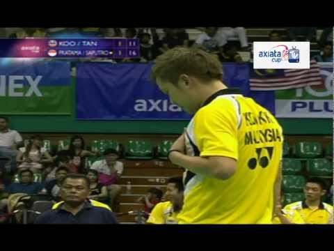 Pratama/Saputro vs Koo/Tan - Day 3 (Group K) - Axiata Cup 2012