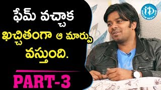 Jabardasth Sudigali Sudheer & Ram Prasad Exclusive Interview Part #3 || Talking Movies With iDream - IDREAMMOVIES