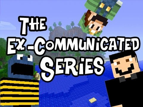 Minecraft: The Ex-Communicated Series ft SlyFox, SSoHPKC &amp; Nova  Ep.4 - Bed for 3 Please
