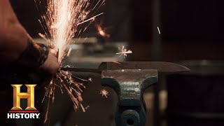 Forged in Fire: Forging Friction Folders (Season 5, Episode 4) | History - HISTORYCHANNEL