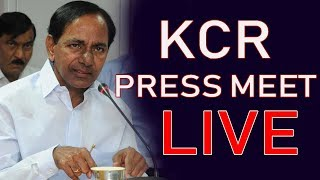 CM KCR Press Meet LIVE On TRS Victory | Telangana Election Results 2018 | iNews - INEWS