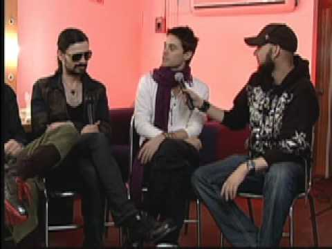 Entrevista a 30 Seconds to Mars 2011 by Claudio Rodriguez Telehit