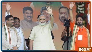 Lok Sabha Elections 2019:ओडिशा में बोले PM Modi, नए भारत के निर्माण में आपकी अहम भूमिका - INDIATV
