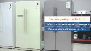 Обзор Side By Side холодильников Samsung RSA1