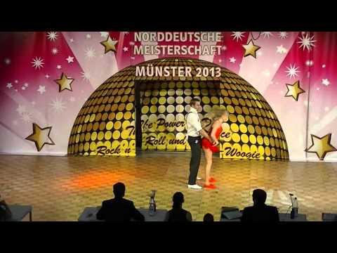 Lisa Sichert & Michael Federl - Norddeutsche Meisterschaft 2013