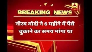 Nirav Modi asked 6 months' time to repay bank's money; PNB initiated investigation - ABPNEWSTV