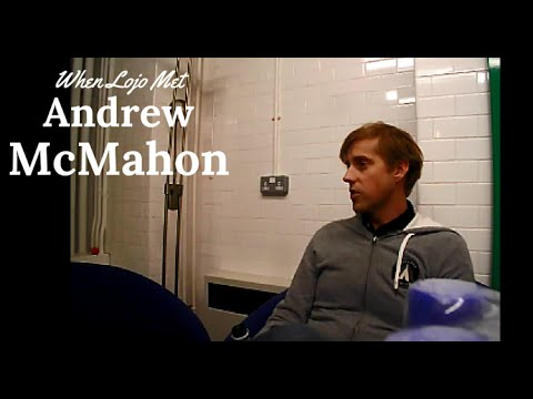 When Lojo Met Andrew McMahon - Interview at Islington Assembly Hall, 28th Feb 2015