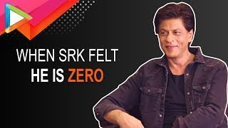 SHOCKING: Shah Rukh Khan talks about the time he felt he can't act !!! - HUNGAMA