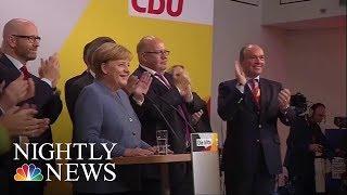 German Elections: Merkel Wins Fourth Term As Far-Right Enters Parliament | NBC Nightly News - NBCNEWS
