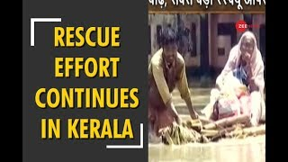NDRF relief and rescue operation underway in Kerala - ZEENEWS