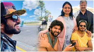 Vijay Devarakonda Enjoying Summer Vacation With His Family In France | Dear Comrade - RAJSHRITELUGU
