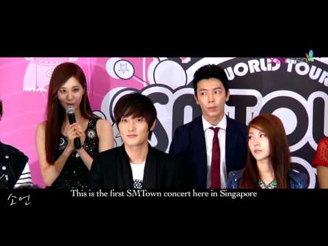 [HD]121124 SNSD Seohyun-English + Full Interview@SMTOWN World Tour III in Singapore Press Conference