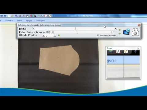 RZ Cad Têxtil | Software para Moldes de Roupas | Digitalização de Foto