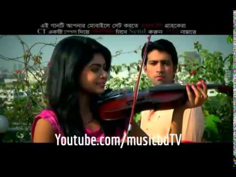 Hridoyer Pothe Jibon Khan, Nirjhor Full HD Bangla Song 2014   YouTube