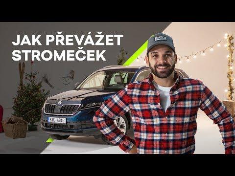 Autoperiskop.cz  – Výjimečný pohled na auta - Bezpečný prosincový pátek: I vánoční stromek se musí připoutat