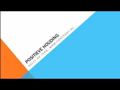 Positieve houding