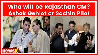 Who will be Rajasthan CM? Ashok Gehlot or Sachin Pilot | Election Result 2018 - NEWSXLIVE