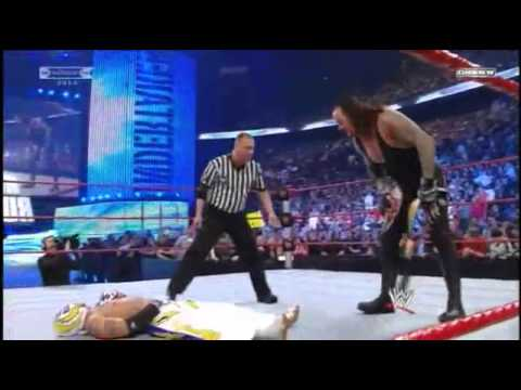 WWE Royal Rumble 2010 Rey Mysterio Vs Undertaker World Heavyweight Championship PART3/3