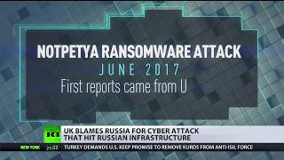 UK blames Russia for cyber attack that hit Russian infrastructure - RUSSIATODAY