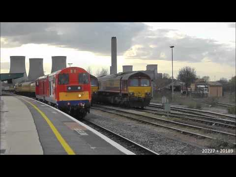 London Underground 20227 + 20189 on 0Z20 @ Didcot 19/04/13