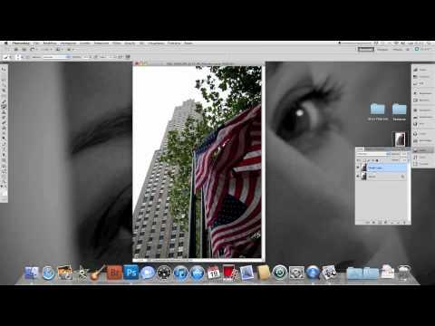 Tutorial Photoshop per foto in bianco e nero parziale
