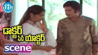Doctor Cine Actor Movie Scenes - Ranjana Misbehaving With Krishna    Jayasudha - IDREAMMOVIES