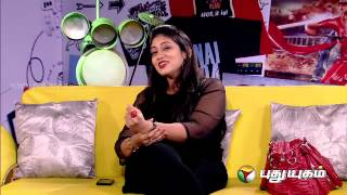 Kelvi Paathi Kindal Paathi With Playback Singer Sharmila – Puthuyugam tv Show