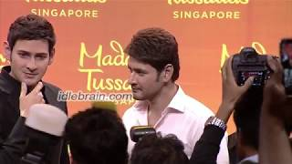 Mahesh Babu launches his Madame Tussauds wax statue at AMB Cinemas - idlebrain.com - IDLEBRAINLIVE
