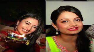 Watch how actresses Giaa & Divyanka celebrate Diwali - IANSINDIA