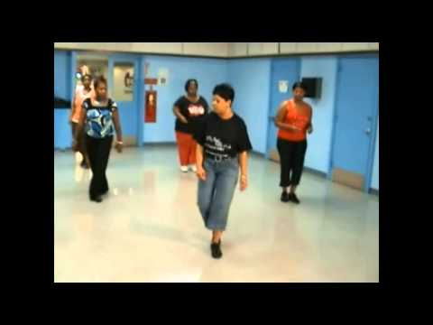 Down South Shuffle Line Dance-In Class Instructions