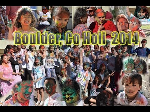 Boulder Colorado Holi 2014