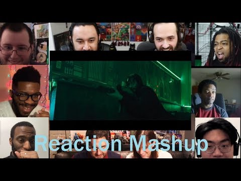 John Wick Chapter 3 Parabellum Official Trailer Reaction Mashup