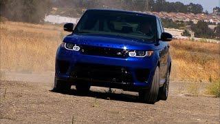 2015 Land Rover Range Rover Sport SVR (CNET On Cars, Episode 72) - CNETTV
