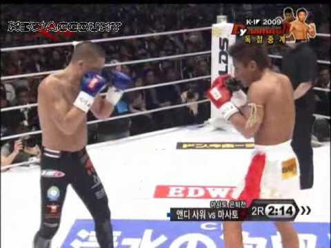 Andy Souwer vs MASATO K1 Dynamite 2009 Round 1 and 2