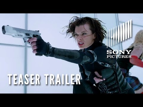 RESIDENT EVIL: RETRIBUTION 3D – Official Teaser Trailer – Opens 9/14