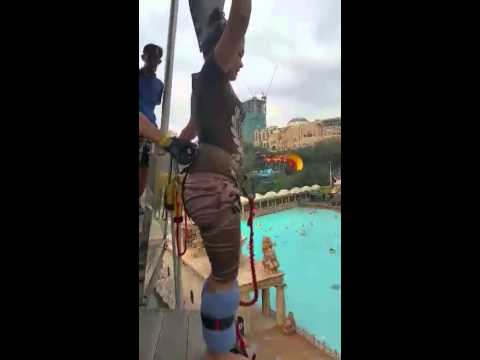 Bungee Jumping @ Extreme Park Sunway Lagoon