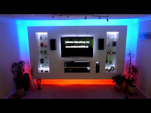 Tv wand selber bauen ikea  Tv Wand Led ~ amped for .