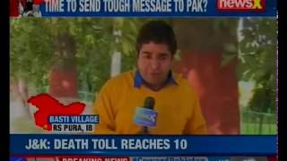 Ceasefire violation in Kana Chak sector; 6 civilians, 4 heroes killed by Pak butchers - NEWSXLIVE