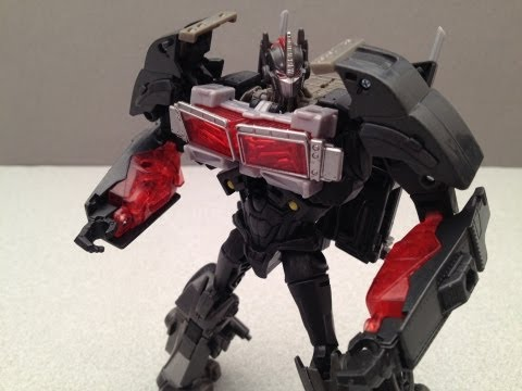 NEMESIS PRIME - TAKARA TRANSFORMERS PRIME ARMS MICRON TOY REVIEW