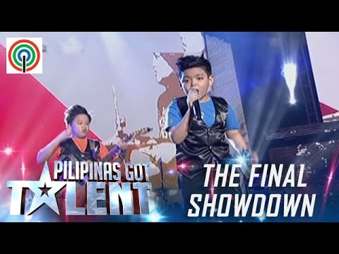 Pilipinas Got Talent Season 5 Live Finale: The Chosen Ones - Kiddie Band