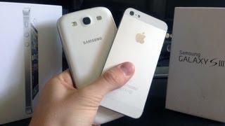 Iphone 5 - Samsun Galaxy S3 detaylı inceleme