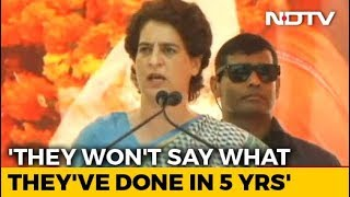 Election 2019: BJP Obsessed With My Family, Says Priyanka Gandhi - NDTV