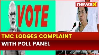 TMC Lodges Complaint with Election Commission, Central Forces Deployed in State seeks Vote for BJP - NEWSXLIVE
