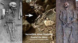 Hallan en Marte el 'esqueleto de un rey