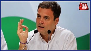 Rahul Gandhi's Continues Attack On PM Modi With 'Commander-In-Thief' Tweet | Rafale Deal - AAJTAKTV