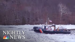 Winter Storm Brings Snow And Ice To The South | NBC Nightly News - NBCNEWS
