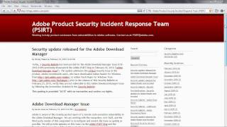 Adobe Reader/Acrobat JavaScript Settings view on youtube.com tube online.