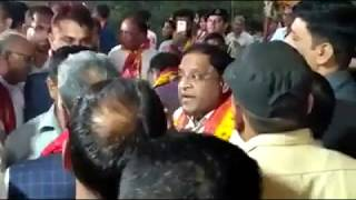 जब मोदी के मंत्री और खट्टर के मंत्री भिड़ गए, Verbal fight between Ministers of Modi & Khattar Govt - ITVNEWSINDIA