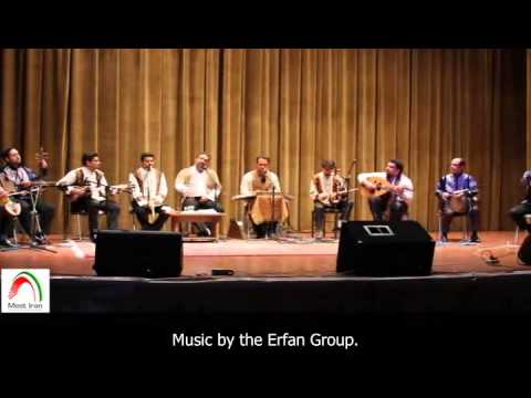 Traditional Iranian music. Erfan group.