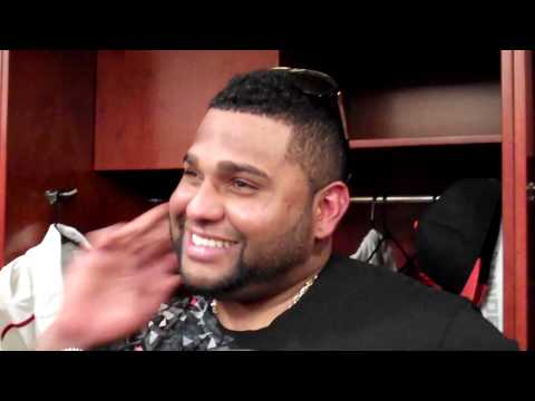 Pablo Sandoval talks about getting punched after walkoff HR
